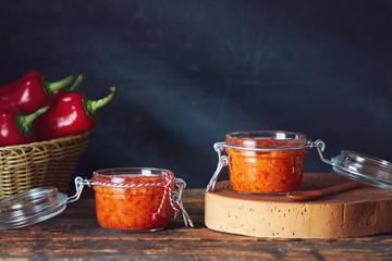 Roasted Red Pepper Relish (Ajvar)