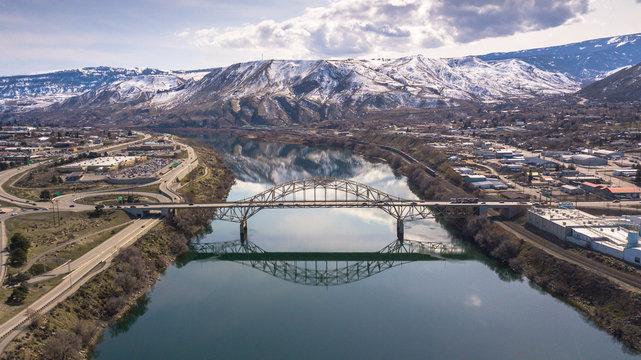 Bridge Over Columbia River - Wenatchee, WA