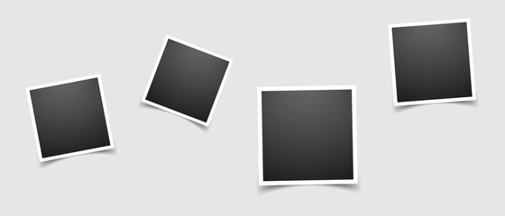 Photo frame sign icon in flat style. Snapshot picture vector illustration on white isolated background. Photography banner business concept.
