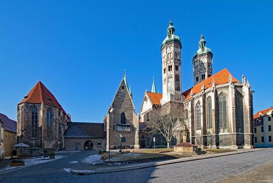 Der Naumburger Dom St. Peter und Paul in Naumburg, Sachsen-Anhalt, Deutschland