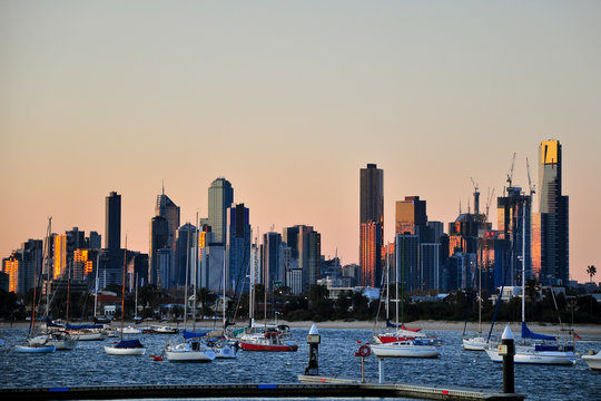 Melbourne St. Kilda Pier Australien
