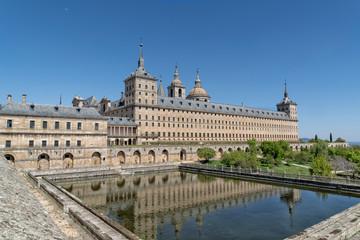 Escorial Monastery near madrid spain