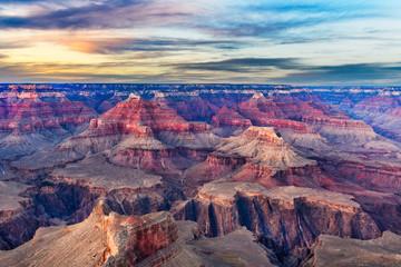 Fototapete - Grand Canyon, Arizona, USA at dawn from the south rim.