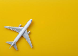 Model plane. Travel  concept Wall mural