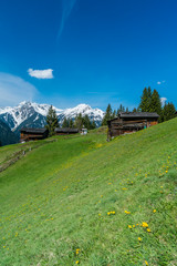 Fototapete - Bergwelt