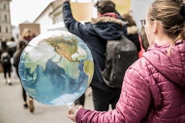 Demonstration zum Umweltschutz