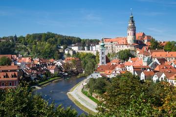 Fototapeta Český Krumlov, Jihočeský kraj, Tschechien obraz