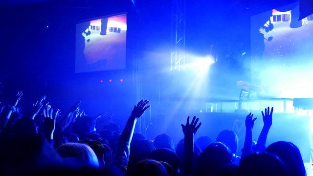 クラブ、ライブの観客