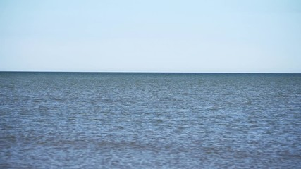 Fototapete - Blue Baltic sea water.