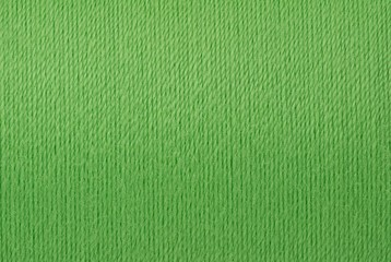 Macro picture of green thread texture background Wall mural