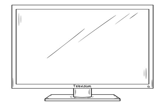 LCD television or computer monitor