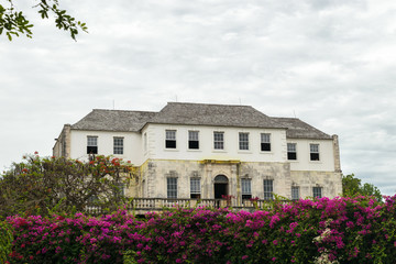 Rose Hall Great House in Montego Bay, Jamaica. Popular tourist attraction.