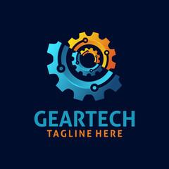 Gear tech logo design
