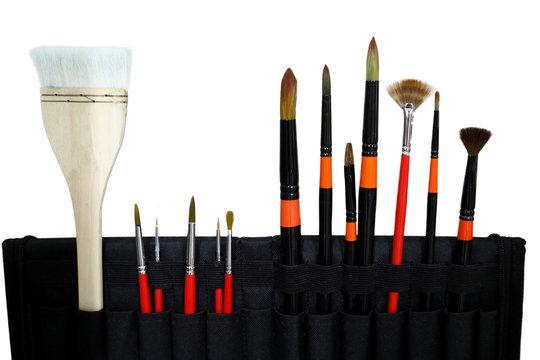 palat and brush