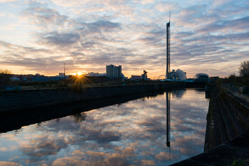 Govan Docks Sunrise 7