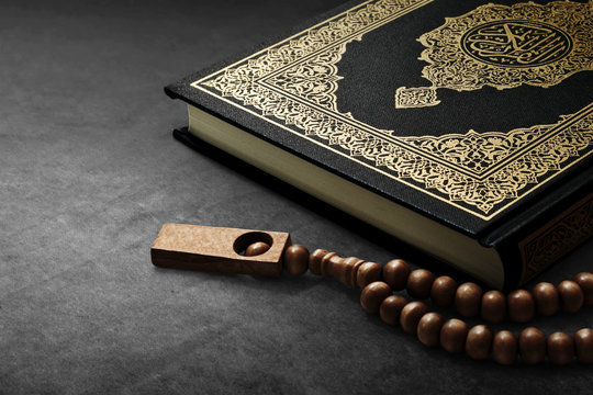 Quran holy book.