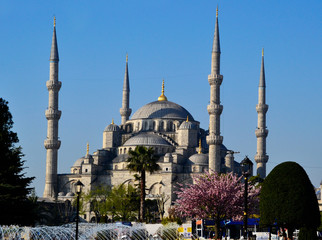 Sultan Ahmed Blue Mosque, Istanbul, Turkey