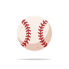 Baseball ball vector isolated illustration