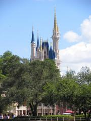 Das Schloss (Cinderella Castle) im Magic Kingdom Park (Magische Königreich), Walt Disney World Resort in Orlando