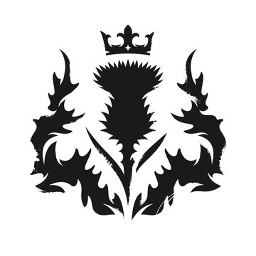 Scottish thistle emblem