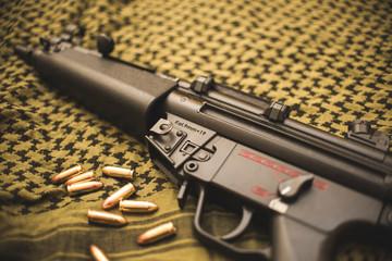 MP5 submachine rifle