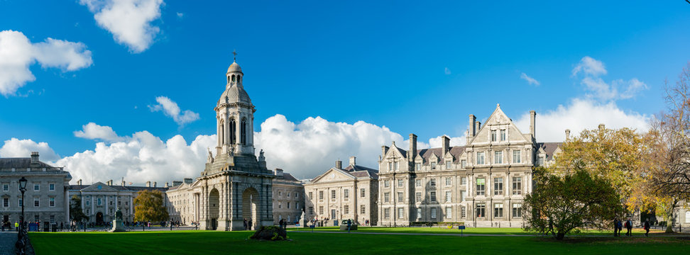 The Campanile of Trinity College