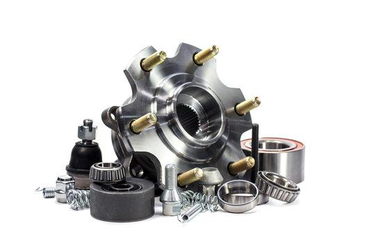 Auto parts. Hub.