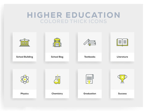 Higher Education Infographic Design