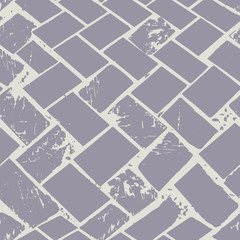 Abstract terrazzo floor weave pastel grunge stone texture. Seamless vector pattern on grey background with urban vibe. Great as background, texure, packaging, stationery, gift wrap