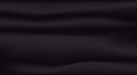 Fototapete - Black silk background .