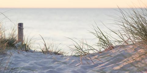 Fototapete - Strandübergang zur Ostsee