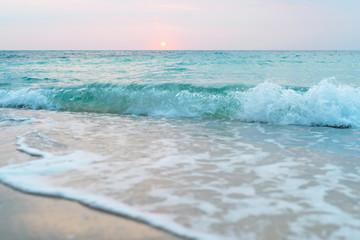 Baeutiful beach White sand beach with blue sea on Koh Samet island Thailand. Wall mural