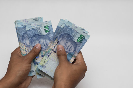 Counting money south african rands