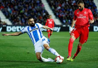 La Liga Santander - Leganes v Real Madrid