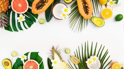 summer fresh fruits