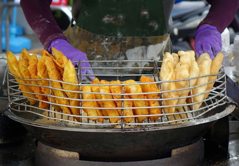 Street Vendor Makes Taiwanese Churros