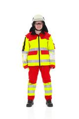 Feuerwehr Frau Rettungsdienst Notarzt