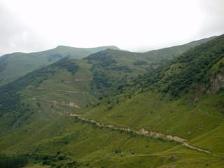 Poster de jardin Colline Travel to the Caucasus mountains in Kabardino-Balkaria.