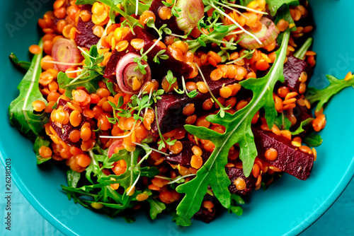 Rote Linsen Salat Stock Photo And Royalty Free Images On Fotolia