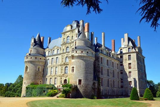 The Chateau de Brissac is the highest castle in Loire castles. It is one of the most beautiful castles of Chateau de la Loire