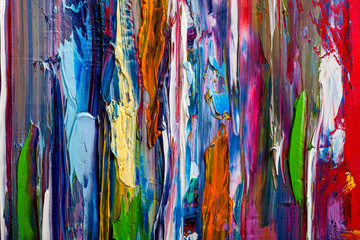 Abstract paintings. Hand drawn oil painting. Color texture.