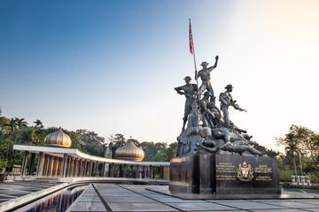 Canvas Prints Kuala Lumpur Tugu Negara monument, a popular tourist destination in Kuala Lumpur