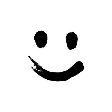 Black Ink Emoticon.