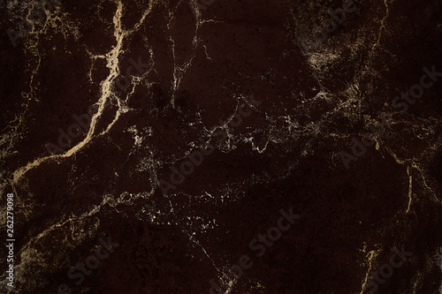 Luxury texture with gold  Dark brown color background  High