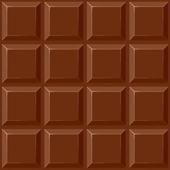 Photo sur Plexiglas Draw Chocolate Squares Vector Seamless Repeat Pattern