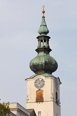 Wall Mural - Turm der Pfarrkirche Wels, Oberösterreich