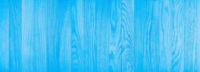 Blue wood texture background.  Wall mural