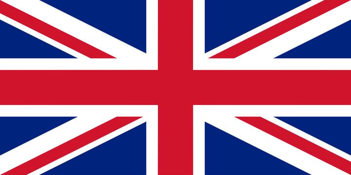 British flag vector illustration