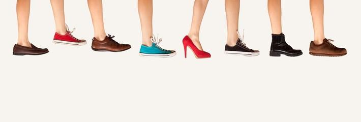 shoe store advertisement