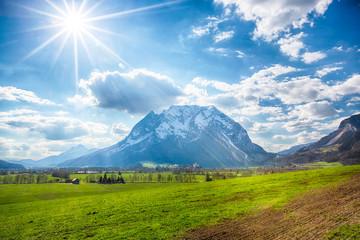 Grimming in Ennstal, Steiermark, Austria